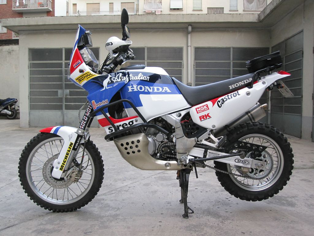 are standard Africa Twin